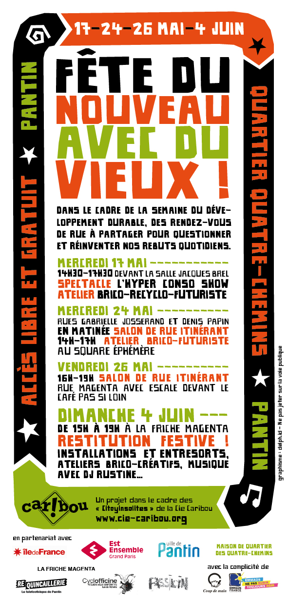 Citoyinsolites_CARIBOU_Pantin_Flyer
