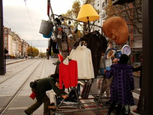 Rencontres avec les habitants et récoltes de témoignages dans le quartier de la Porte de Montreuil – novembre 2015